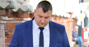 Marcin Skrzypezyk (31):  denies the murder of Ludovit Pasztor at the Amber Petrol Station, Carrignagroghera, Fermoy. Photograph: Cork Courts