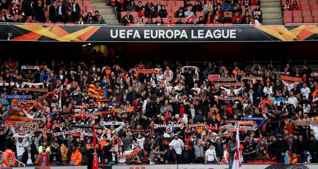 Valencia condemns apparent racist chants and Nazi salutes