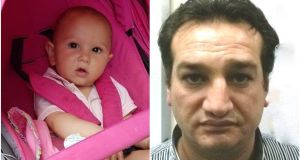18-month-old Shania Constantin and her grandfather (36) Condrut Iosca have been found safe and well