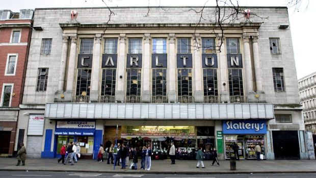 The Carlton Cinema in its glory days. Photograph: Alan Betson