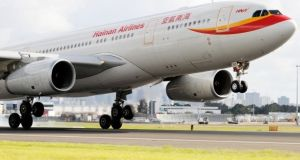 Hainan Airlines commenced a new, year-round service between Dublin and Shenzhen in February. It also flies between Dublin and Beijing.