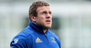 Leinster hooker Sean Cronin has been struggling with a calf injury. Photograph: Laszlo Geczo/Inpho