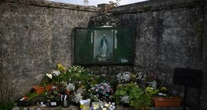 A shrine at the site of the Tuam babies graveyard. Photograph: Clodagh Kilcoyne/File Photo/Reuters