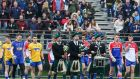 New York host Roscommon in 2016 at Gaelic Park. If you are a manager or a player, the New York tie is just a box ticker. Photograph: Ed Mulholland/Inpho