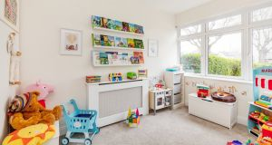 Children's playroom at 140 New Cabra Road