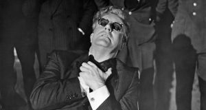 Peter Sellers in  Dr Strangelove or: How I Learned to Stop Worrying and Love the Bomb