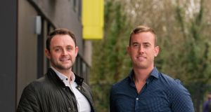 "Clean Cut Meals founders Micheal Dyer (left) and Conor McCallion: ""We definitely hope to saturate the Irish market more. We believe we could probably grow at least another 200 per cent from where we are now."""