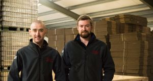 "Darren Fenton and Ciarán Gorman of Bevcraft: ""We've taken a 'two-pronged' approach of opening in the UK and, at the same time, pursuing international market opportunities."""