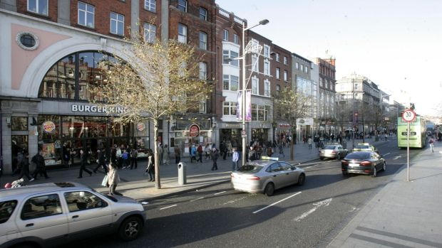 """We need to get agitated about O'Connell Street and its uses again."" File photograph: Dara Mac Dónaill"