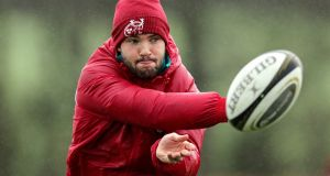Munster outhalf Bill Johnston is expected to move to Ulster in the summer. Photograph:  Laszlo Geczo/Inpho