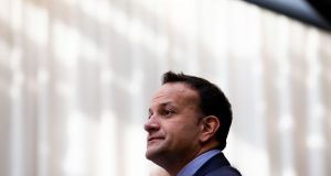"Taoiseach Leo Varadkar   has announced a preferred bidder for the largest single contract in the history of the State on ""a very significant day for our country"".  Photograph: Tom Honan"