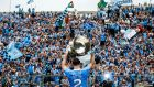 Dublin's Philip McMahon celebrates   with the Sam Maguire after beating Tyrone in the All-Ireland   Football Championship final in  Croke Park last year. Photograph: Tommy Dickson/Inpho