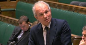David Lidington said he hoped the Brexit deal could be ratified before British MEPs would have to take their seats in Strasbourg on July 2nd. Photograph: PA Wire