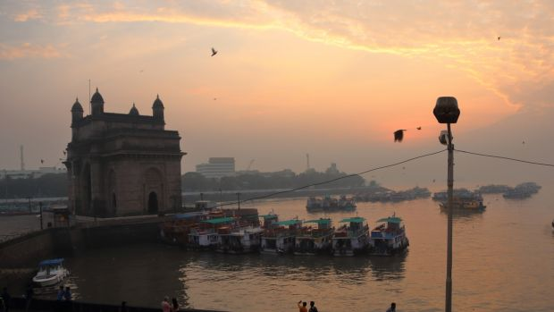 The Gateway of India at sunset. Photograph: Fionn Davenport