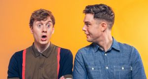 Comedians James Acaster and Ed Gamble are the brains behind the Off Menu podcast