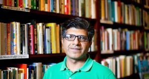 Waheed Mohiuddin at the Irish Writers' Centre in Dublin. Photograph: Tom Honan