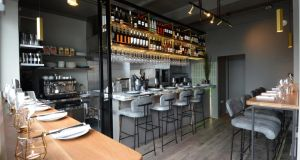 Little Mike's: Gaz Smith's new wine bar has been designed by Kate Hartley of KHD. Photograph: Dara Mac Dónaill