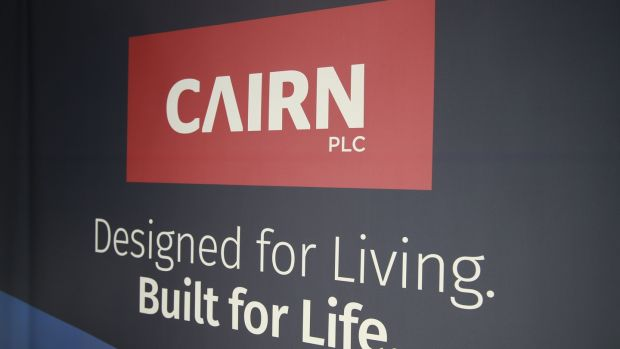 New homes developer Cairn Homes is one of the construction companies growing strongly. Photograph Nick Bradshaw