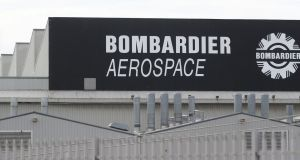 "A Bombardier spokeswoman said the company would ""take the time required to find the right buyer"" for its Northern Ireland plants. Photograph: Niall Carson/PA Wire"