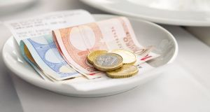 In some restaurants, it has emerged, tips or service charges become part of general business cashflow, used to pay wages and other business outgoings. A number File photograph: George Clerk/iStock/Getty Images