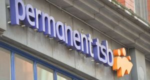 Permanent TSB  mortgage lending grew by 19 per cent in the first three months of the year. Photograph: Alan Betson