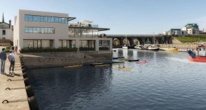 The planned redevelopment of Balbriggan harbour