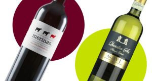 Wines for the weekend: Merinas Old Vine Tempranillo and Quadro Sei Gavi, both from Marks & Spencer