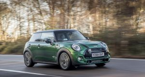 The Mini Cooper S 60 Years Edition isn't the fastest hot hatch around but it still has the lightning steering response that you expect from a Mini, and it's still gloriously good fun to drive