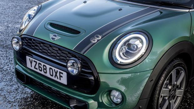 At €41,995 on the road the Mini Cooper S 60 Years Edition is actually more expensive than the more powerful John Cooper Works model