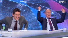 Brian Kerr's reaction to Spurs' late winner goes viral