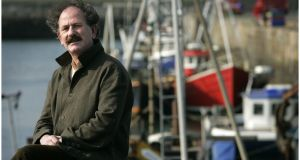 The late Liam Ó Muirthile in Dún Laoghaire, 2007. Photograph: Dara Mac Dónaill