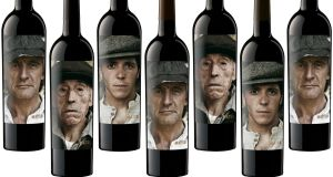 Vine art: Matsu's bottles use striking images of men who have devoted their lives to making wine