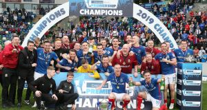 Danske Bank Premiership champions Linfield will face the winners of the Airtricity League in the new Unite the Union Champions Cup. Photo: Brian Little/Inpho