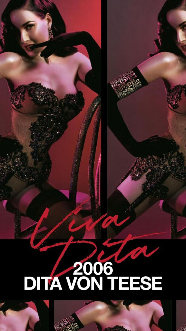 Viva Glam: Dita Von Teese promoted Mac's campaign in 2006