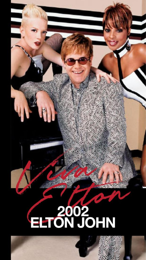 Viva Glam: Elton John promoted Mac's campaign in 2002