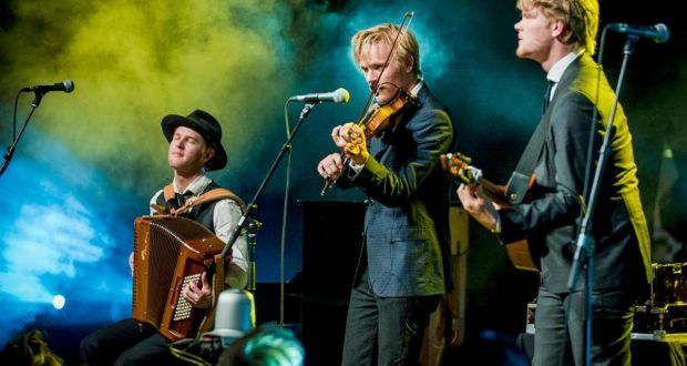 Danish-Swedish trio Dreamers' Circus are at the NCH in Dublin on Saturday and Baltimore Fiddle Fair in Cork on Sunday. Photograph: Kristoffer Juel Poulsen