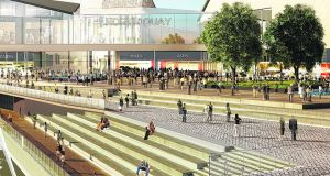 An image of the planned North Quays redevelopment in Waterford city. Picture: Waterford City and Council Council