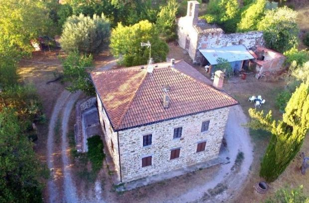 Italy: 19th-century farmhouse in the commune of Ceneselli, near Rovigo