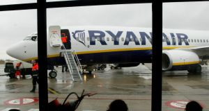 The European airline sector underperformed, with Ryanair closing 2%  lower at  €10.77