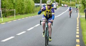Seán Lynch (34) from Rathfeigh in Co Meath  raced with the Drogheda Wheelers Club. Photograph: Sean Rowe