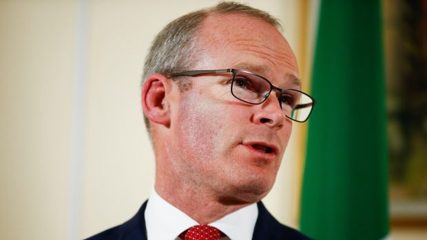 "Tánaiste and Minister for Foreign Affairs Simon Coveney: if alternative arrangements ""do the same job as the backstop, they can replace it"". Photograph: Henry Nicholls"