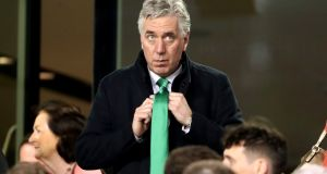 Former FAI chief executive John Delaney: The failure to record the proposed bonus is understood to be one of the matters being investigated by the ODCE. Photograph: Niall Carson/PA Wire