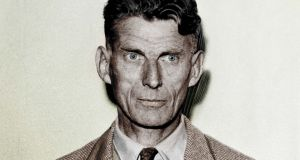 Samuel Beckett said he would rather liver in a France at war than and Ireland at peace. Photograph: Getty Images