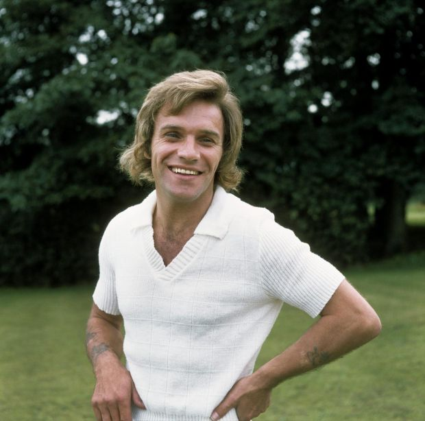 Freddie Starr: the comedian at the height of his fame, in 1974. Photograph: George Wilkes/Hulton/Getty