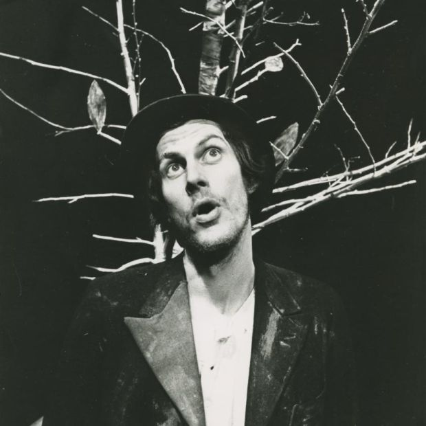 Lyric Theatre, Waiting for Godot, 1975. Photograph: James Hardiman Library.