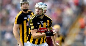 Kilkenny's TJ Reid will look to claim scores from distance against Dublin on Saturday. Photograph: Inpho