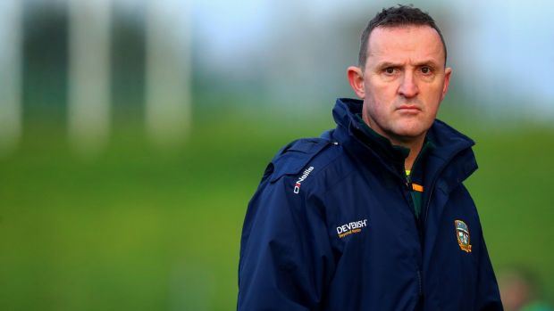 Meath manager Andy McEntee. Photograph: Inpho