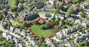Grey Gates site in Sandymount with  1.26 acres, significant in an area where development land is in short supply