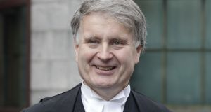 Mr Justice Kevin Cross said he wished that people would read his judgment before commenting on it. Photograph: Collins Courts