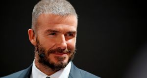 David Beckham retired from a 20-year-long career in football six years ago. Photograph: Reuters